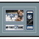Tampa Bay Lightning My First Game Hockey Ticket Photo Frame