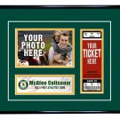 Oakland A's Athletics Personalized My First Game Baseball Ticket Photo Frame