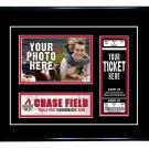 Arizona Diamondbacks Personalized My First Game Baseball Ticket Photo Frame