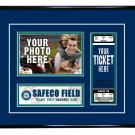 Seattle Mariners Personalized My First Game Baseball Ticket Photo Frame