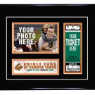 Baltimore Orioles Personalized My First Game Baseball Ticket Photo Frame