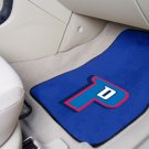 Detroit Pistons Carpet Car Mats Set