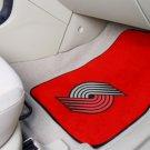 Portland Trail Blazers Carpet Car Mats Set