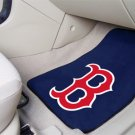 Boston Red Sox Carpet Car Mats Set B