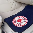 Boston Red Sox Carpet Car Mats Set
