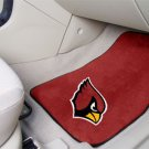 Arizona Cardinals Carpet Car Mats Set
