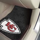 Kansas City Chiefs Carpet Car Mats Set