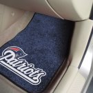 New England Patriots Carpet Car Mats Set