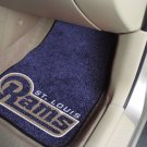 St. Louis Rams Carpet Car Mats Set