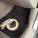 Washington Redskins Carpet Car Mats Set
