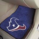 Houston Texans Carpet Car Mats Set