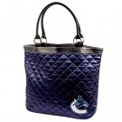 Vancouver Canucks Littlearth Quilted Tote Bag Purse