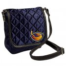 Atlanta Thrashers Littlearth Quilted Cross-Body Purse Bag
