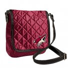 Phoenix Coyotes Littlearth Quilted Cross-Body Purse Bag