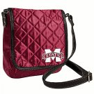 Mississippi State University Bulldogs Littlearth Quilted Cross-Body Purse Bag