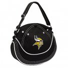 Minnesota Vikings Littlearth CAPtivate Small Hobo Bag Purse