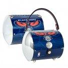Atlanta Hawks Littlearth Super Cyclone License Plate Purse Bag