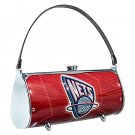 New Jersey Nets Littlearth Fender Flair Purse Bag Swarovski Crystals