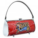 Philadelphia 76ers Littlearth Fender Flair Purse Bag Swarovski Crystals