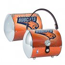 Charlotte Bobcats Littlearth Super Cyclone License Plate Purse Bag