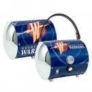 Golden State Warriors Littlearth Super Cyclone License Plate Purse Bag