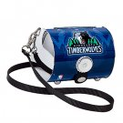 Minnesota Timberwolves Littlearth Super Cyclone License Plate Purse Bag