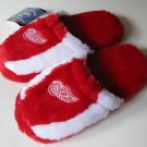Detroit Red Wings Soft Slide On Slippers Medium