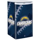 San Diego Chargers Counter Top Fridge Compact Refrigerator