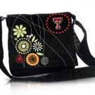 Texas Tech University Red Raiders Corduroy Messenger Bag Purse
