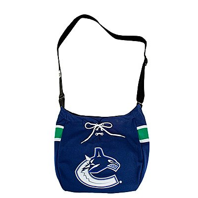 Vancouver Canucks Hat Trick Hockey Jersey Tote Bag Purse Gift