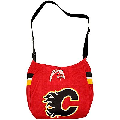 Calgary Flames Littlearth Hat Trick Jersey Tote Bag Purse Gift