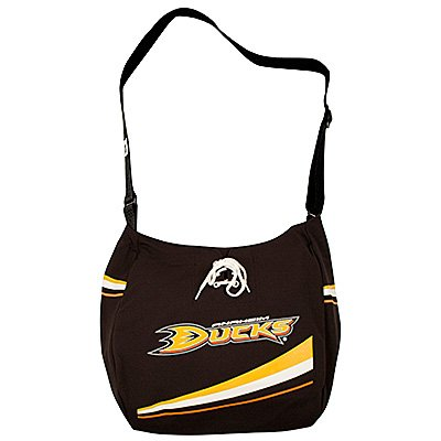 Anaheim Ducks Littlearth Hat Trick Jersey Tote Bag Purse Gift