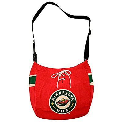 Minnesota Wild Littlearth Hat Trick Hockey Jersey Tote Bag Purse Gift