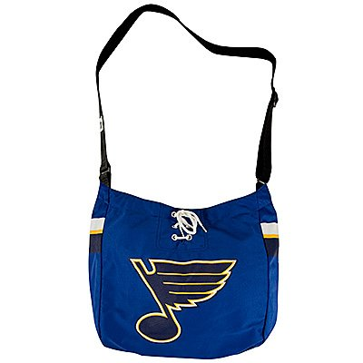 St. Louis Blues Littlearth Hat Trick Hockey Jersey Tote Bag Purse Gift