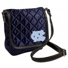 University Of North Carolina Tarheels Littlearth Quilted Cross-Body Purse Bag
