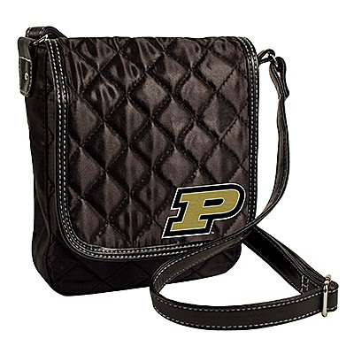 Purdue University Boilermakers Littlearth Quilted Cross-Body Purse Bag