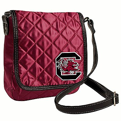 University Of South Carolina Gamecocks Littlearth Quilted Cross-Body Purse Bag
