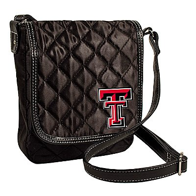 Texas Tech University Red Raiders Littlearth Quilted Cross-Body Purse Bag