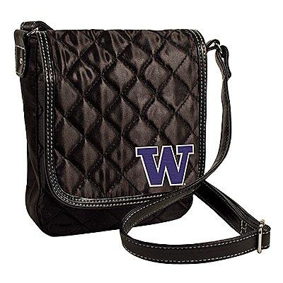 University of Washington Huskies Littlearth Quilted Cross-Body Purse Bag
