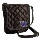 University of Washington Huskies Littlearth Quilted Cross-Body Purse Bag
