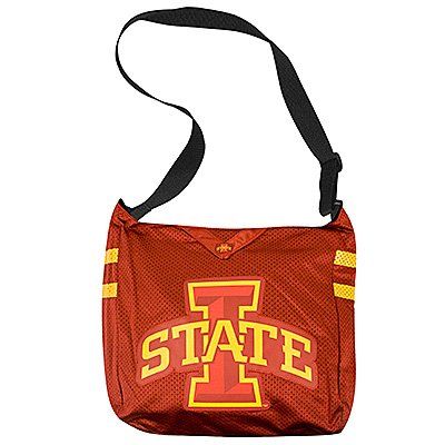 Iowa State University Cyclones Littlearth Football Jersey Tote Bag Purse