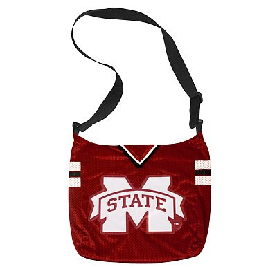 Mississippi State University Bulldogs Littlearth Football Jersey Tote Bag Purse