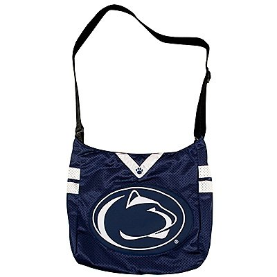 Penn State University Nittany Lions Littlearth Football Jersey Tote Bag Purse