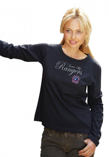 New York Rangers Love My Rangers G-III Women's Tee Shirt Medium