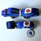 Boise State University Broncos Pet Dog Set Leash Collar ID Tag Small