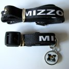 University of Missouri Mizzou Tigers Pet Dog Set Leash Collar ID Tag Medium
