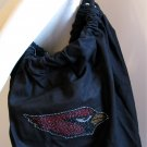 Arizona Cardinals B for Betsy Crystals Canvas Bag Large Purse
