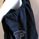 Atlanta Falcons B for Betsy Crystals Canvas Bag Large Purse