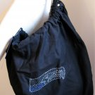 Seattle Seahawks B for Betsy Crystals Canvas Bag Large Purse