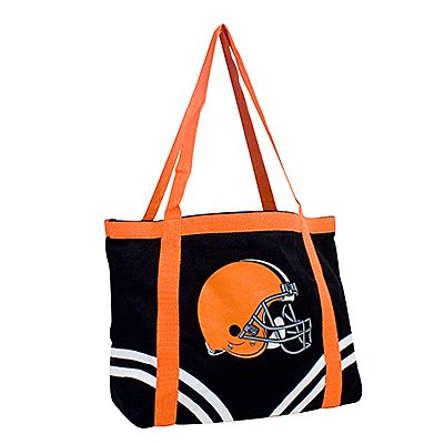 Cleveland Browns Littlearth Tailgate Canvas Tote Bag